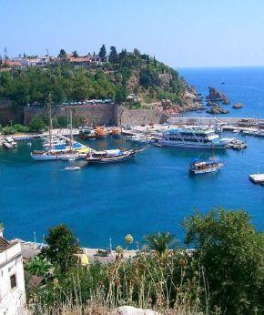 Antalya Kaleiçi liman